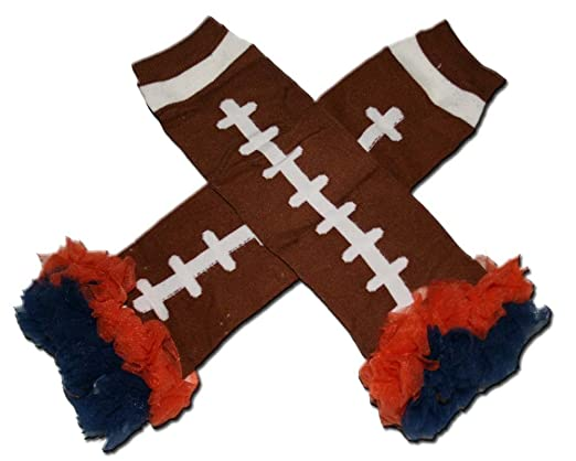 Denver Bronco baby leg warmers