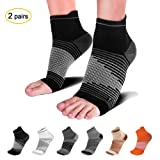PAPLUS Compression Socks Plantar Fasciitis (2 Pairs) with Arch Support for Women & Men, Heel Compression Sleeve. Relieves Joint Pain, Heel Spur, Sprains, Swelling. Black L (Color: Black(2 Pairs), Tamaño: Large (Men's 9-12/Women's 9.5-12.5))