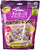 Yummy Earth Organic Vitamin C Lollipops 40+, 8.5 Ounce