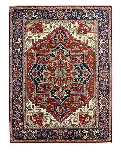 Bashian Indo-Herez Wool Rug, Rust, 9' x 11' 10 As You See