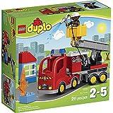 Lego Duplo Ville - 10592 - Jeu De Construction - Le Camion De Pompiers