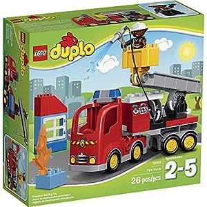 lego duplo ville 10592 jeu de construction le camion de pompiers jeux et jouets. Black Bedroom Furniture Sets. Home Design Ideas