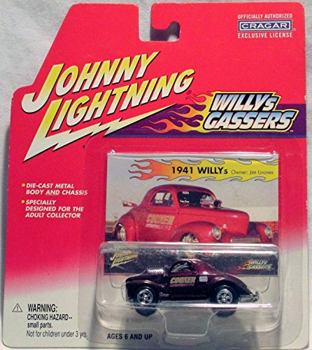 Johnny Lightning Willys Gassers - Steve Castelli's 1941 Willys