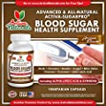 Activa Naturals Blood Sugar Health Supplement with Amazing Natural Herbs - 90 Veg Capsules
