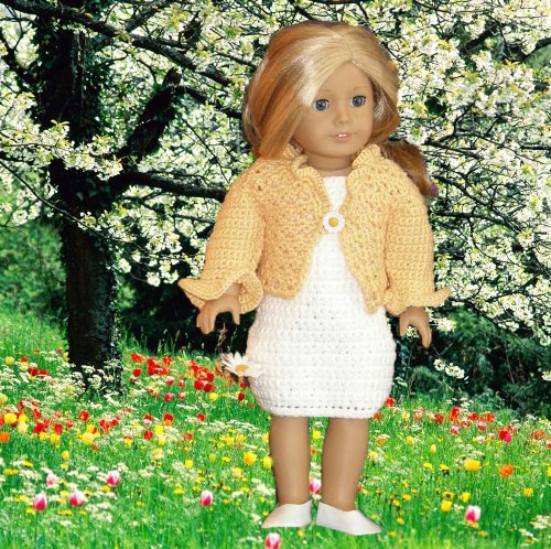 Spring Flowers Crochet Pattern for 18 inch dolls