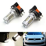 iJDMTOY (2) Xenon White 80W CREE H15 LED Bulbs For Audi BMW Mercedes Volkswagen For Daytime Running Lights