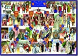 Kings and Queens Of England - 1000 piece Jigsaw Puzzle