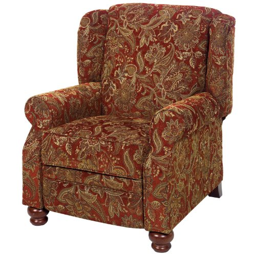 Cheap jackson belmont accent push back recliner multicolor for Red chair design jackson wy