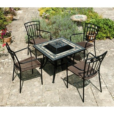 Europa Leisure Miranda Fire Pit Table from Europa Leisure