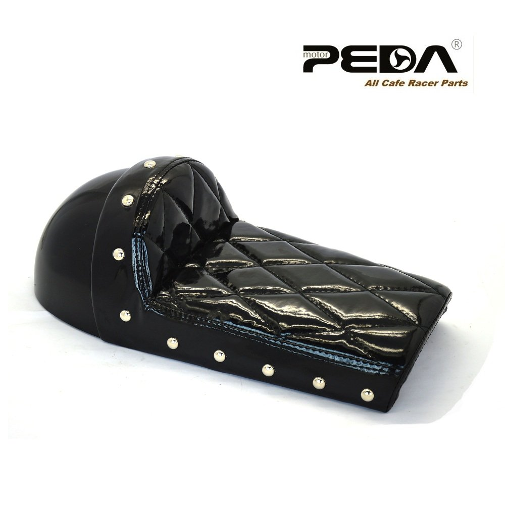 PEDA Waterproof Cafe Racer Stud Seat For Honda Gorilla Motorcycle Retro Hump Monkey Z Vintage 0