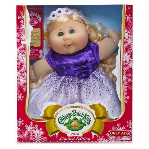 cabbage-patch-kids-exclusive-limited-edition-holiday-2014-haarfarbe-blond-kleid-in-lila-weiss
