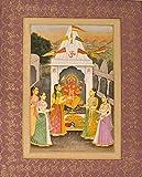 Exotic India Ganapati Worship - Water Color On Paper - Artist: Navneet Parikh