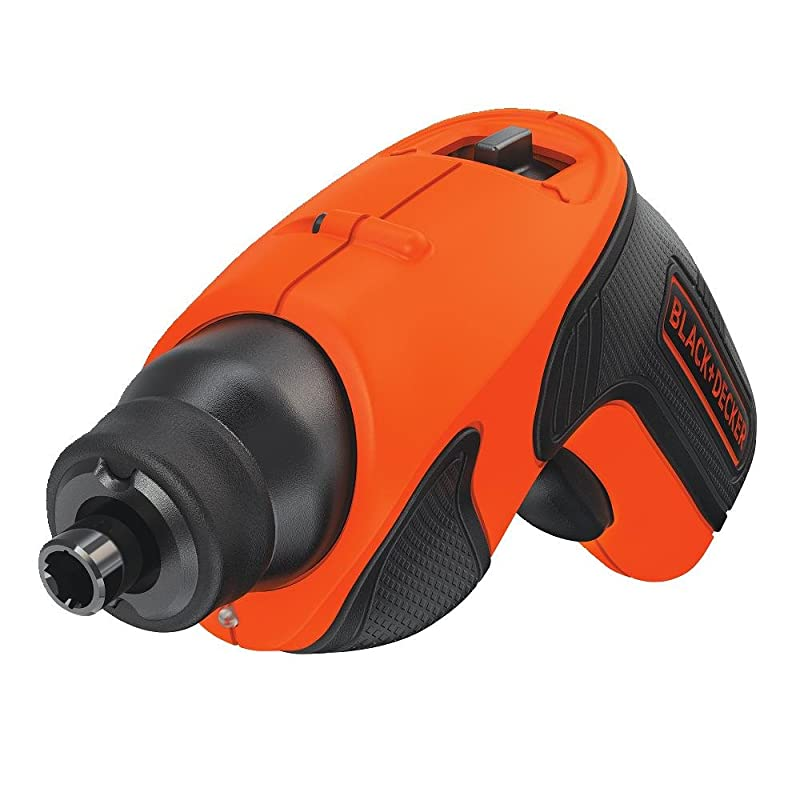 BLACK+DECKER BDCS20C 4-Volt MAX Lithium-Ion Cordless Rechargeable Screwdriver via Amazon
