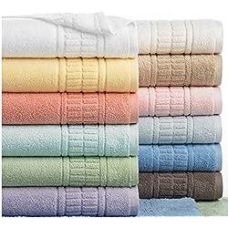 "Martha Stewart Plush Bath Towels - 30"" x 54"" (White)"