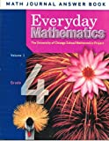 img - for Everyday Mathematics: Grade 4, Math Journal Answer Book, Vol. 1 book / textbook / text book