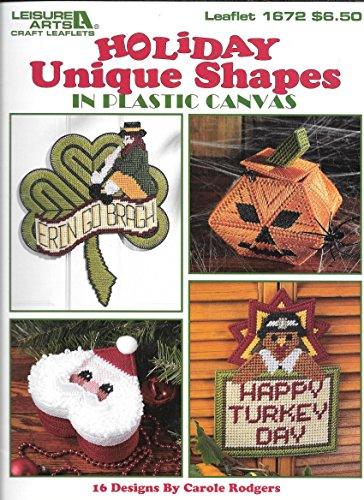 Holiday Unique Shapes in Plastic Canvas(Leaflet 1672)