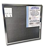 air care 14x20x1 silver electrostatic washable permanent a c furnace air filter 94