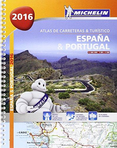 ATLAS DE CARRETERAS Y TURISTICO ESPAÑA