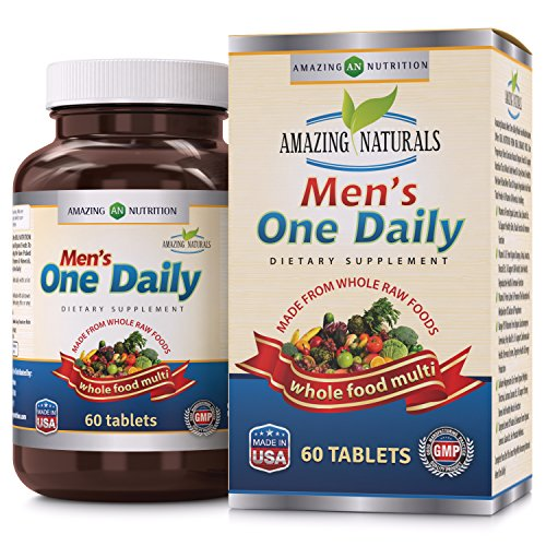 Amazing-Naturals-MENS-ONE-DAILY-Multivitamin-Organic-Raw-Whole-Food-Multivitamins-For-Men