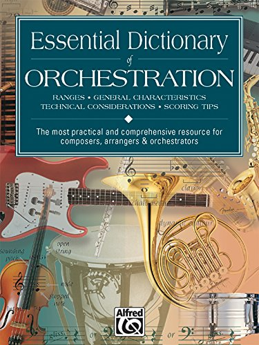 Essential Dictionary of Orchestration (The Essential Dictionary Series)