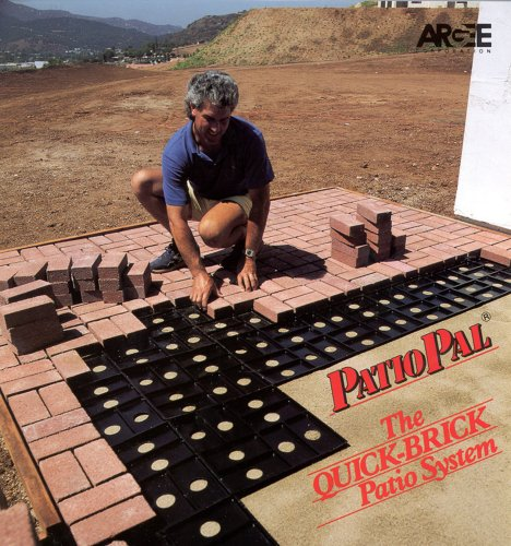Patio Pal Brick Laying Guides, Covers 20 Square Feet, Black