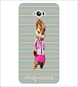 PrintDhaba Funny Image D-4577 Back Case Cover for ASUS ZENFONE MAX ZC550KL (Multi-Coloured)