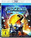 DVD & Blu-ray - Pixels (3D Version (2 Disc)  ) [3D Blu-ray]