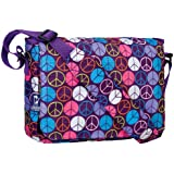 Wildkin Peace Signs Kickstart Messenger Bag