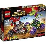 Lego Hulk Vs Red Hulk, Multi Color