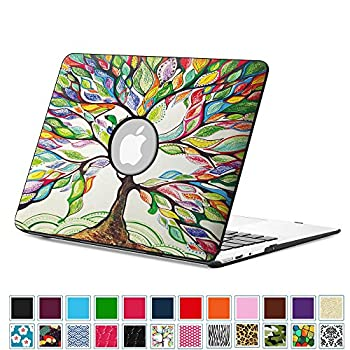 5. Fintie MacBook Air 13 Inch Case - Premium Vegan Leather Coated Hard Shell Protective Case Cover