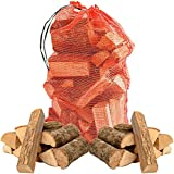 15kg of Quality Ash Kiln Dried Wooden Logs - Coal Alternative Fuel for Hotter Burning Fires. Firepits. Firewood Moisture Reduced to Only 20% - Comes with THE CHEMICAL HUT® Anti-Bacterial Pen!