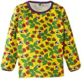 Smafolk Girls Long Sleeve Strawberries Floral T-Shirt