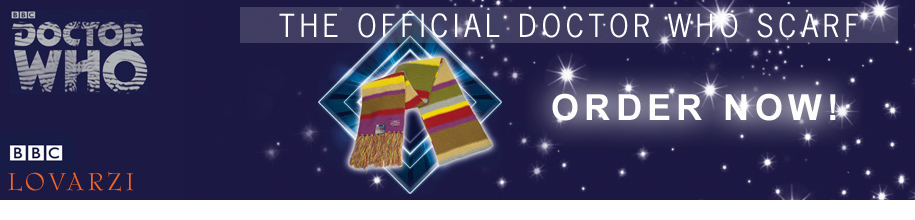 Doctor Who Scarf - Fourth Doctor Scarf