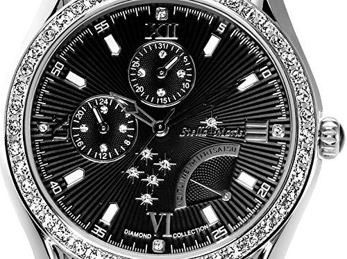 stella maris damen armbanduhr analog quarz premium keramik diamanten stm15m4 uhren. Black Bedroom Furniture Sets. Home Design Ideas