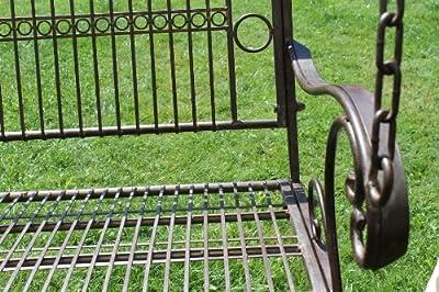 Hängebank 82505 Schaukel mit Ketten Gartenschaukel Bank Hollywoodschaukel Garten