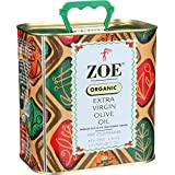 Zoe Organic Extra Virgin Olive Oil, 88 oz