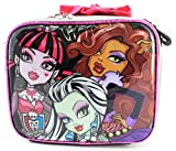 UPD Kids Childrens Boys Girls Lunch Bags Boxes Pales Monster High 1904