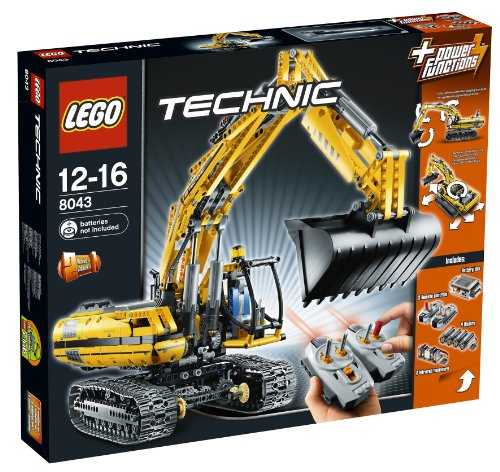 LEGO Technic 8043: LEGO Power Functions Motorized Excavator