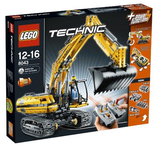 LEGO Technic 8043 - Motorisierter Raupenbagger