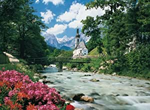 Clementoni Puzzle 36516 - Ramsau - Bavarian Alpes -  6000 pezzi High Quality Collection