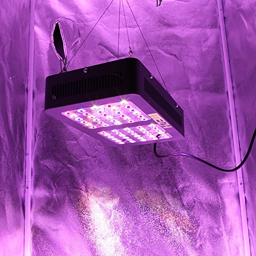 meizhi 300w led grow light full spectrum u2013 growing lamp panel for hydroponics indoor greenhouse plants veg flowering growth