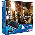 Console PS3 Ultra slim 12 Go noire + The Last of Us - �dition jeu de l'ann�e + Uncharted 3 : l'illusion de Drake - essentiels