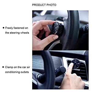 Woowi Bluetooth FM Transmitter for car, Wireless Handsfree FM Radio Transmitter Adapter Car Kit, (Built-in Microphone), with Battery, 4.5 Hours Stand
