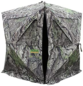Primos Hunting Blind Luck Ground Blind, Ground Swat Gray by Primos Hunting