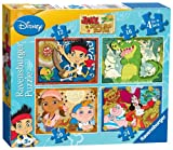 Ravensburger Jake and The Never Land Pirates (Pack of 4)
