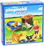 PLAYMOBIL Cat Family with Basket Building Kit