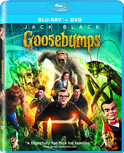 Goosebumps (Blu-ray + DVD + UltraViolet + Limited ebook Offer)