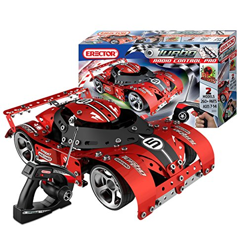 Meccano Erector Turbo RC Pro Building Kit