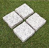 桜御影石 板石 バーナー ピンコロ 石材(1個入り) ガーデニング 板石 舗石