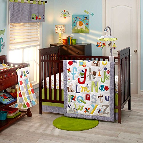 NoJo by Jill McDonald Abc with Me Crib Bedding Set